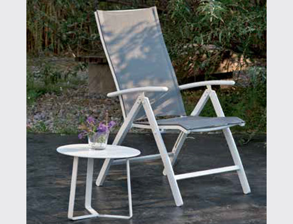 SILLO RECLINABLE YORK WHITE/WHITE