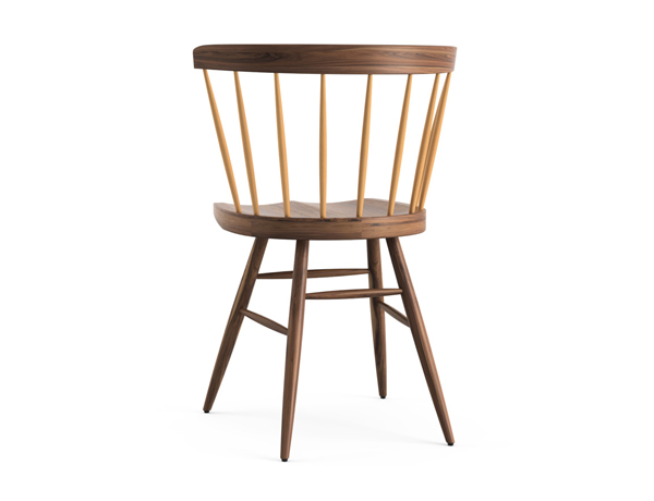 STRAIGHT CHAIR  WALNUT