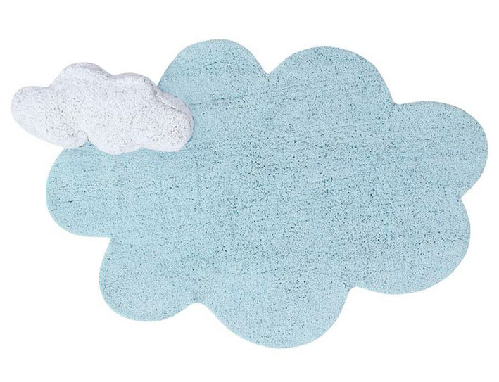 PUFFY DREAM BLAU 110X170